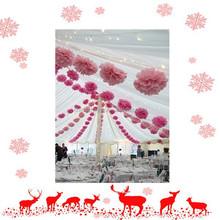 Tissue paper pom poms artificial flowers balls birthday Wedding decoration kids party supplies