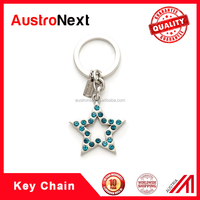 Promotional metal keychain with custom logo,Wholeslae Customized Logo Keychain, custom promotion star shaped Carabiner Keychain