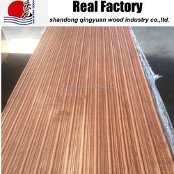 Laminated wood lumber zebra ebony sapelie oak teak