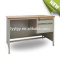 De acero inoxidable de hierro de la computadora de escritorio moderno mesa de modelos mueblesdeoficina