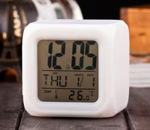 Factory price color change led clock, time clock, digital clock