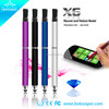 Popular e cig wholesale china Boluvaper super slim electronic cigarette dry herb vaporizer stylus x6 ecig