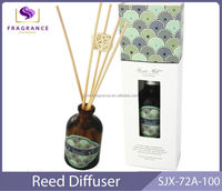 fashion houes reed diffuser perfume and fragrance decorative glass bottle reed diffuser decorative air freshener reed