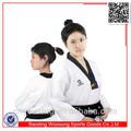 ropa de taekwondo blanco uniformes de artes marciales