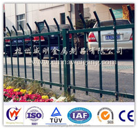 Protective road steel railing fence