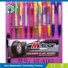 Hot Pen For Promotional, Unique Price Banner Pen, Cheap Fancy Banner Pens