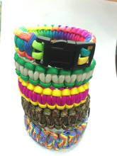 2015 the newest Popular Direct Sale Paracord Parachute Cord Jewelry DIY Projects