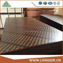 18mm Black Construction Plywood/Formwork Plywood/Concrete Plywood/Film Faced Plywood