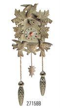 plastic quartz cuckoo clock