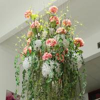 artificial fake hydrangea wedding decoration table centerpiece gate door flor