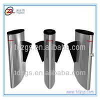 Security flap barrier gate,glass fingerprint turnstile for airport turnstile entry system