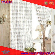 Feather line shade decorative string curtain