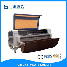 Double heads Auto-feeding laser cutting machine GY-1610TF,laser cut leather,fabric cutting machine,Lasers