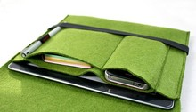 Felt Tablet Package Case For Ipad macbook pro/mini air case,Wallet Bag For ipad macbook Air Pro 11.6/13.3/15Inch Case Cover