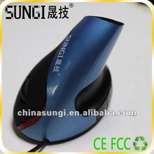 Fashionable 5D Vertical Optical Mouse with Ergonomic Design