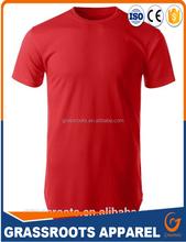 custom tall t shirts/100% cotton blank tall t shirts/2016 big tall wholesale t shirts