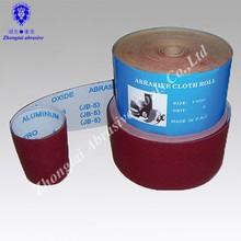 OEM good quality High content of cotton JB-5, JA135 ,JA512 roll-shaped abrasive cloth