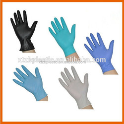 Disposable surgical glove powder free medical latex gloves