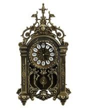 antique style bedroom decorative metal brass antique table clock