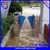 Full automatic ESD test hidden gate turnstile