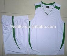 2014 top nuevo estilo de sublimación camiseta de baloncesto, el desgaste de baloncesto, camiseta de baloncesto