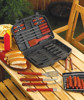 19 PC Deluxe BBQ Tool Set in case