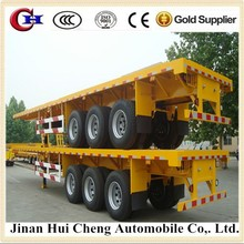 Chinese high quality and cost-saving 40ft flat bed semitrailer