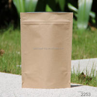 china wholesale kraft paper cookie bags wholesale with window