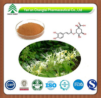 GMP factory supply high quality Honeysuckle Flowers plant Extract Chlorogenic acid