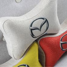 Digital Car Design Linen Memory Pillow
