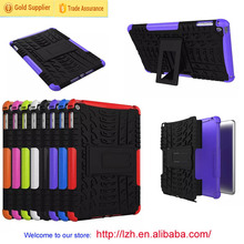 China wholesale! hybrid rugged hard case cover for Apple iPad mini 4 case 2 in1 armor cell phone case
