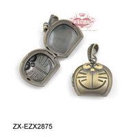 Antique Bronze Dora A dream Locket Necklace Pendant