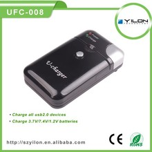 with AC adapter and car charger multi function universal charger for camera