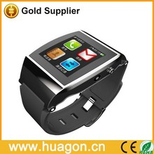 2015 Brand New U Watch Upro Smart Bluetooth Watch1.55 Lps Screen Support Pedomete Anti-lost Smartwatch For iPhone6 Smart Phone