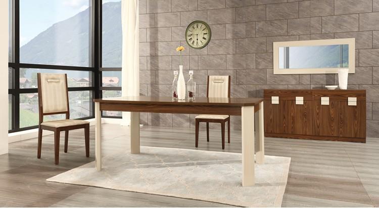 Barato moderna mesa de comedor con 6 sillas/mesa de comedor de ...