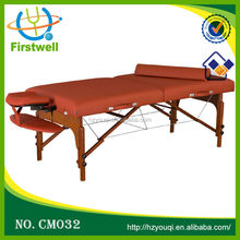 Firstwell tables de salon wood portable massage table Doughty III