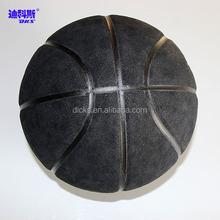 Microfiber Basketball Black Colores Basketball for Standard Size