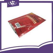 China Manufacturer Light Varnishing Laminated Material Foil Mylar Ziplock Stand Up Pouch Resealable Pet Fish Food Packaging Bag