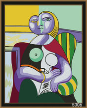 DIY digital Picasso speaking oil painting for decor and gifts (40x50cm)
