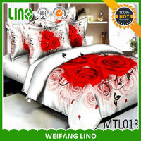 High quality hand embroidered bed sheet,dog designs bed sheets/textile product
