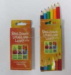 "3.5"" natural wooden colour pencil"