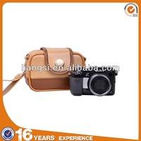Fashion leather camera bag,camera case,camera pouch