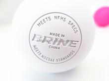 Dia 64mm OEM customized debossed logo sport lacrosse ball