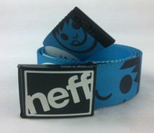 Fashion cotton belt with functional Buckle for man and lady, Customized Designs are Accepted
