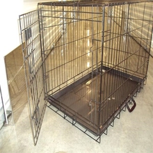 China factory direct sale dog cage 2015 new design dog cage heavy duty dog cage