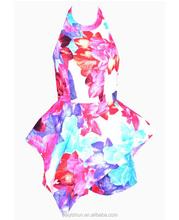 2015 in-alles one piece jumpsuit bodycon dress short bandage dress celebrity dress