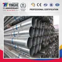 bs 1387 sch40 pre galvanized square seamless steel pipe factory