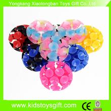 suction ball,flashing sticky ball,kids ball toy