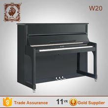 Todos os tipos de instrumentos musicais preto miniatura de piano