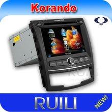 Ssangyong Korando 2012 GPS Navi Special Custom Car DVD Media Player Bluetooth SD USB